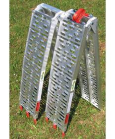 2 Rampes aluminium pliantes...